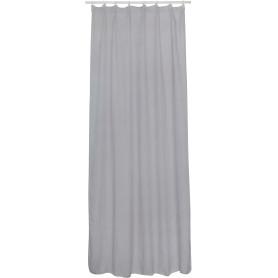 Тюль на ленте Rimo 140x280 см цвет серый