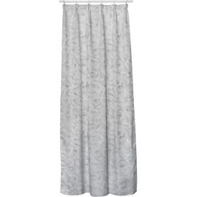 Штора на ленте Gongga 160x280 см цвет серый