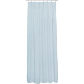 Тюль на ленте Rimo 140x280 см цвет светло-голубой