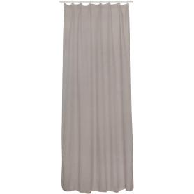 Тюль на ленте Rimo 140x280 см цвет серо-коричневый