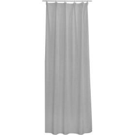 Тюль на ленте Haramosh Peak 140x280 см цвет серый
