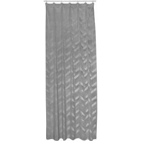 Штора на ленте Mamostong 160x280 см цвет светло-серый