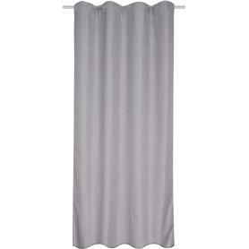 Штора на ленте Kongur 160x280 см цвет серый