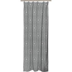 Штора на ленте Mateo 160x280 см цвет серый