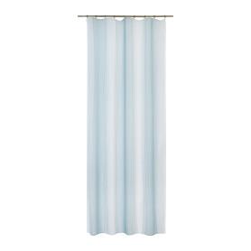 Тюль на ленте Bainthe 135x280 см узоры цвет голубой