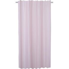 Тюль на ленте Mana 135x280 см узоры цвет розовый