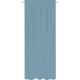 Штора на ленте Kangphu 160x280 см цвет серо-голубой
