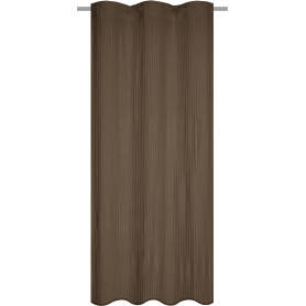 Штора на ленте Gangkhar 140x280 см цвет коричневый