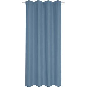 Штора на ленте Chokusu 140x280 см цвет серо-голубой