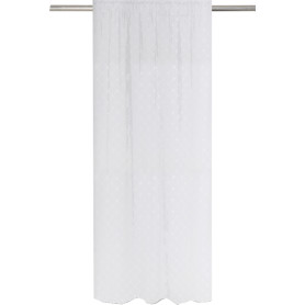 Штора на ленте Lupghu 250x280 см цвет белый