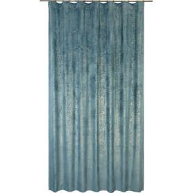Штора на ленте Kangto 200x280 см цвет голубой