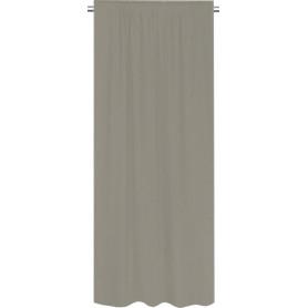 Штора на ленте Latok 160x280 см цвет бежевый