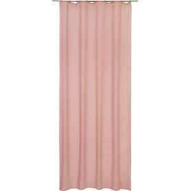 Штора на ленте Tilicho 140x280 см цвет розовый