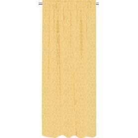Штора на ленте Pauhunri 160x280 см цвет жёлтый