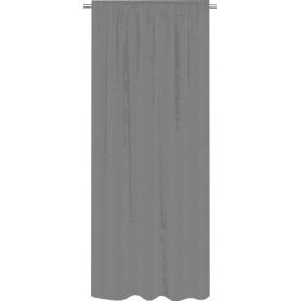 Штора на ленте Trisul 160x280 см цвет серый