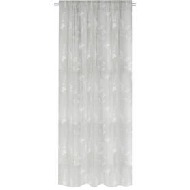 Штора на ленте Lunpo 160x280 см цвет серый