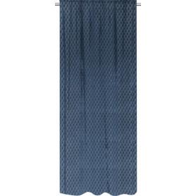 Штора на ленте Dunagiri 160x280 см цвет синий
