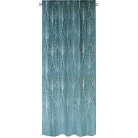Штора на ленте Nyegyi 160x280 см цвет зелёный