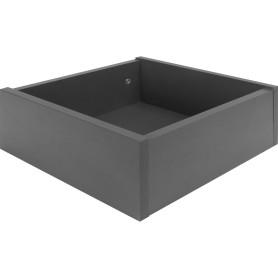 Ящик выдвижной КУБ 32.5x15x31.5 см ЛДСП цвет графит