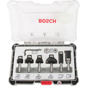 Набор фрез Bosch 6 шт., 8 мм