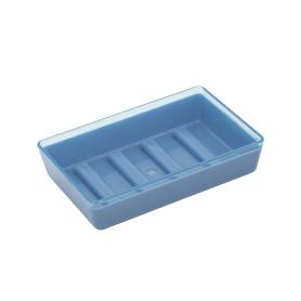 Мыльница Spacy пластик цвет васильковый/голубой