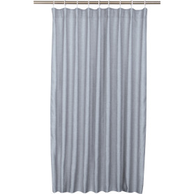 Штора на ленте Sely 200x280 см цвет серый