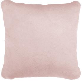 Подушка Swanny 45x45 см цвет светло-розовый