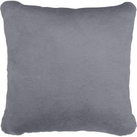 Подушка Swanny 45x45 см цвет серый