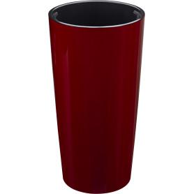 Кашпо Idea Пилар ø39 h76 см v23 л пластик бордовый