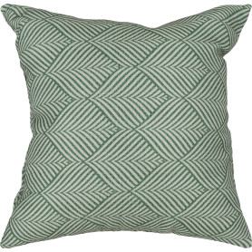 Подушка «Sarov» 40х40 см цвет зелёный