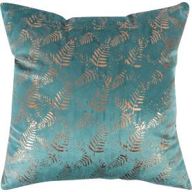 Подушка «Анзур» 40x40 см цвет бирюзовый