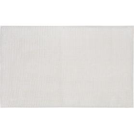Коврик для ванной комнаты Merci 45x70 см цвет белый