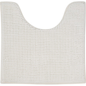 Коврик для туалета Merci 45x45 см цвет белый
