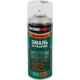Эмаль по ржавчине Donewell цвет серебристый 0.52 л
