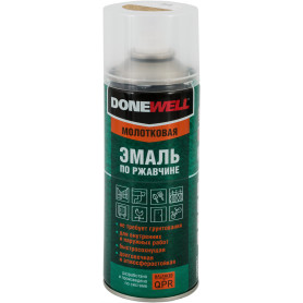 Эмаль по ржавчине Donewell цвет бронзовый 0.52 л