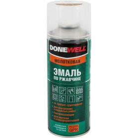Эмаль по ржавчине Donewell цвет чёрно-бронзовый 0.52 л
