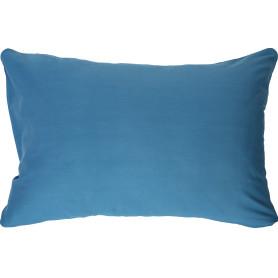 Наволочка 50х70 см сатин цвет сине-голубой