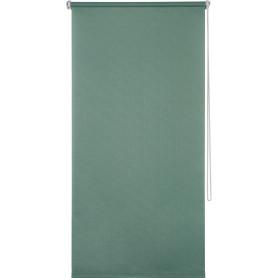 Штора рулонная Inspire «Шантунг», 70x160 см, цвет изумрудный
