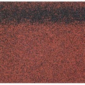 Черепица коньково-карнизная Roofshield, цвет красный