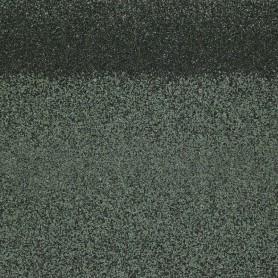 Черепица коньково-карнизная Roofshield, цвет зеленый