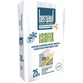 Клей для пенополистирола Bergauf Isofix 25 кг