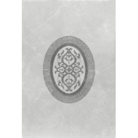 Декор «Дора» 20x30 см цвет серый