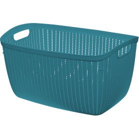 Корзина для хранения Вязание 26 л цвет морская волна