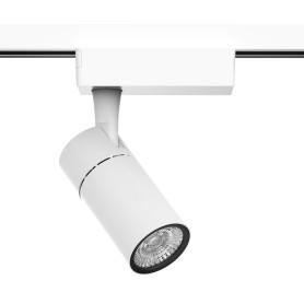 Трековый светильник Gauss светодиодный 10 Вт, 3 м², цвет белый