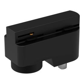 Адаптер универсальный Gauss для трековой системы, цвет чёрный