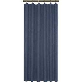 Штора на ленте «Савана» 145x180 см однотон цвет синий