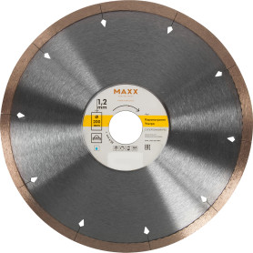 Диск алмазный по керамограниту Maxx Ультра, 200х22.2 мм