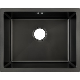 Мойка VD-5444 54x44x19.5 см, матовый, нержавеющая сталь, цвет чёрный