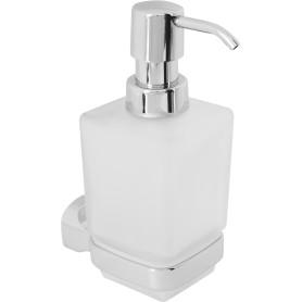 Дозатор подвесной для жидкого мыла Opus цвет прозрачный