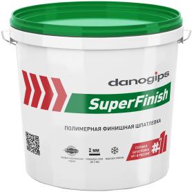 Шпаклёвка готовая финишная Danogips SuperFinish 5 кг